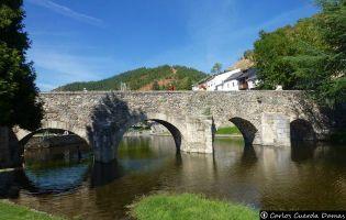 Puente románico - Molinaseca