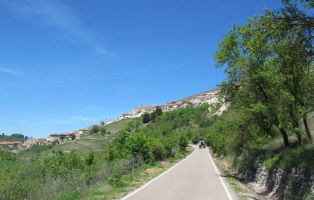 Panorámica desde la carretera de Cuevas de Provanco