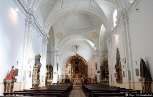 Interior Iglesia de Serrada