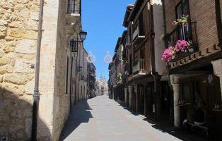 Qué ver en El Burgo de Osma - Calle Mayor