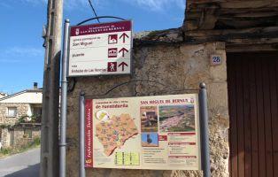 Sendero del Embalse de las Vencías - San Miguel de Bernuy