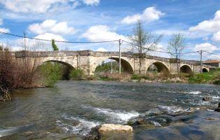 Puente sobre el río Duratón - Fuentidueña