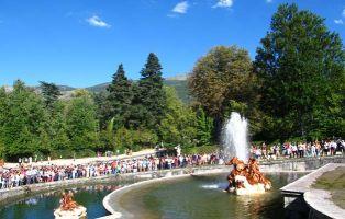 Palacio y Jardines de la Granja - Fuentes monumentales