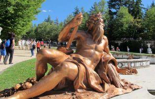 Vijar con niños - Fuentes de la Granja - Segovia