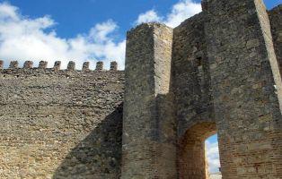 Puerta de Alfonso VIII - Muralla de Fuentidueña - Segovia