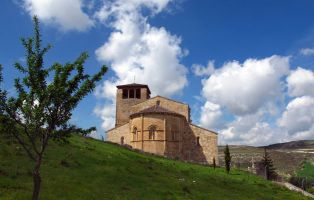 Románico Segovia - Iglesia románica de San Miguel - Fuentidueña - Segovia