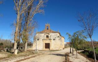 Detalle fachada Iglesia de Santa María - Gumiel de Izán