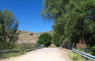 Puente sobre el río Riaza - Montejo de la Vega