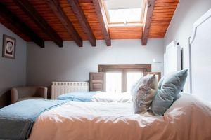 Habitación con televisión y baño incluido - Hotel rural Princesa Kristina