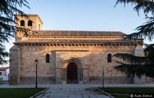 iglesia románica Ávila - San Andrés