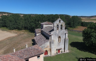 Iglesia de Santa Eufemia de Cozuelos Olmos de Ojeda