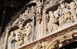 Conjunto escultórico gótico isabelino en Aranda de Duero - Burgos