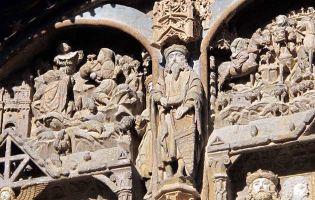 Fachada dedicada a la Virgen María - Aranda de Duero - Burgos