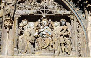Epifanía y escena de los Tres Reyes Magos - Iglesia de Santa María de Aranda de Duero - Burgos