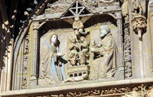 Nacimiento del Niño Jesús - Iglesia de Santa María de Aranda de Duero - Burgos