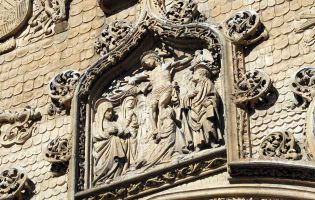La Pasión de Cristo - La Crucifixión - Iglesia de Santa María de Aranda de Duero