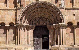 Portada - Iglesia de Santo Domingo - Soria