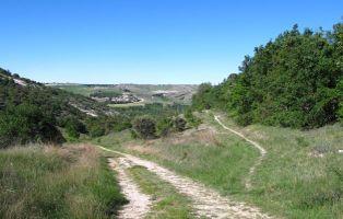 Tramo del sendero - Laguna de Contreras