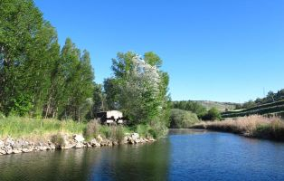 Presa del Canal del Duratón - Laguna de Contreras