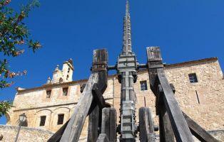 Reconstrucción de arma medieval - Catapulta de Maderuelo