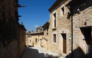Arquitectura popular - Calles de Maderuelo