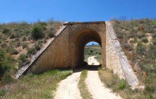 Tramo del sendero hacia el Santuario de Hornuez