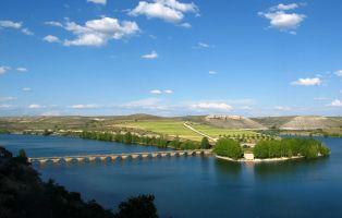 Embalse de Linares desde Maderuelo