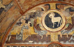 Pinturas románicas de la Ermita de la Vera Cruz