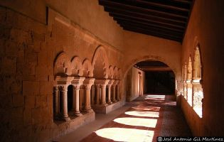 Claustro Monasterio de Gradefes