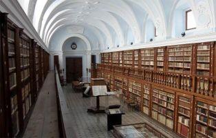 Qué ver en la Ribera del Duero - Biblioteca del Monasterio de La Vid - Burgos