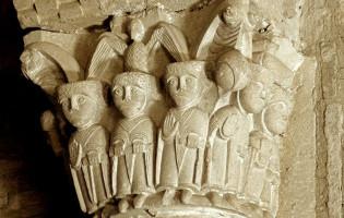 Capitel de las 'siete monjas'