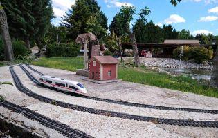 Trenes en miniatura - Parque Temático del Mudéjar