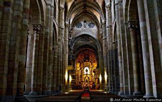 Interior Basílica de San Vicente