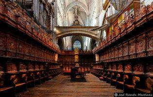 Coro - Catedral de Ávila.