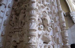 Detalle plateresco - Museo Capilla de los Manuel - Peñafiel