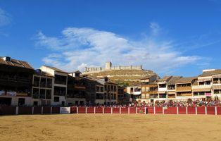 Plaza del Coso - Peñafiel - Valladolid
