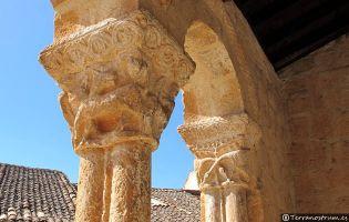 Capiteles Iglesia de San Ginés - Rejas de San Esteban