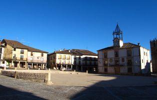 Plaza Mayor de Riaza - Segovia