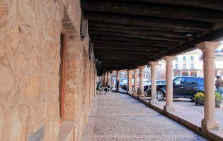 Soportales de Riaza - Segovia
