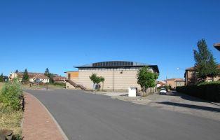 Inicio del sendero - Pabellon Deportivo Municipal de Riaza