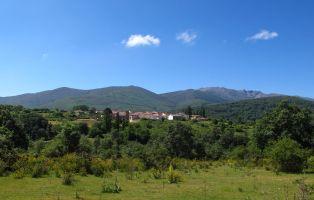 La población situada a mayor altitud de la provincia de Segovia - Riofrío de Riaza