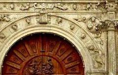 Portada San Cosme y San Damián - Burgos
