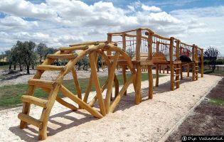 Parque infantil - Almenara de Adaja-Puras.