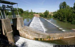 Presa de San Andrés - Canal de Castilla