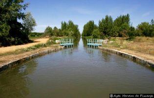 Sexta esclusa - Canal de Castilla