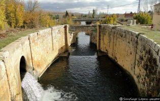 Esclusa de Viñalta - Canal de Castilla