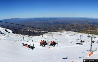 Estación de esquí La Covatilla.