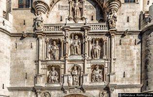 Figuras Arco de Santa María - Burgos