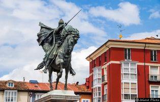 Estatua ecuestre del Cid - Burgos