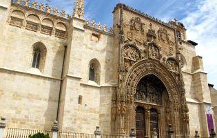 Fachada Iglesia de Santa María - Aranda de Duero